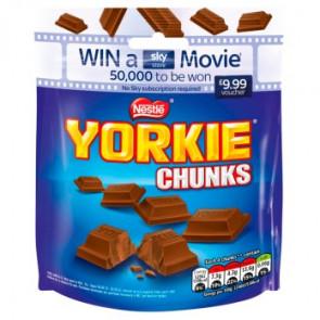 Nestle Yorkie Milk Chunks Pouch